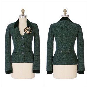 Anthropology sweater coat